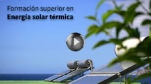 Fórmate a distancia en el curso superior en Energía solar térmica