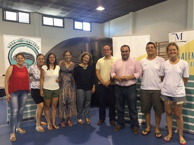 La Diputación colabora con Aula Balenia para concienciar la ciudadanía sobre el cuidado del medio marino