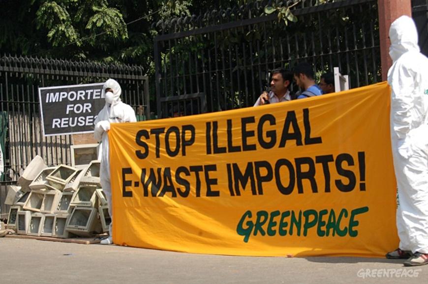 Greenpeace: los gigantes tecnológicos descuidan su responsabilidad ambiental