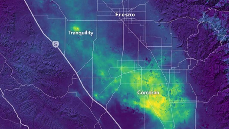 El centro de California se 'hunde'