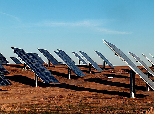 La India quiere ser líder mundial en energía solar