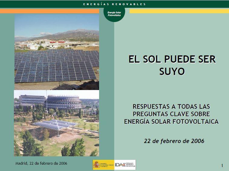 Fotovoltaicos podrían demandar a Industria por publicidad engañosa