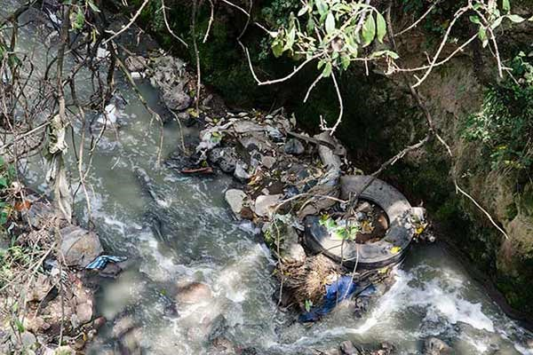 El río que aun sobrevive en Ciudad de México