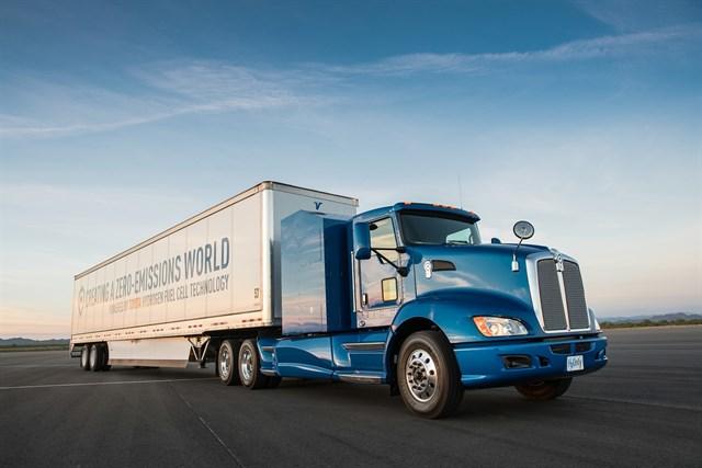 Toyota probará un camión de hidrógeno en Estados Unidos