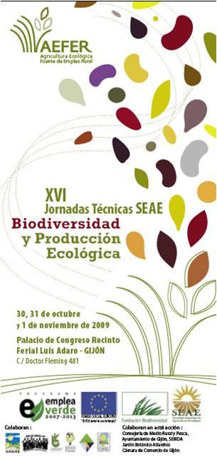 Biodiversidad y producción Ecológica. XVI Jornadas Técnicas SEAE