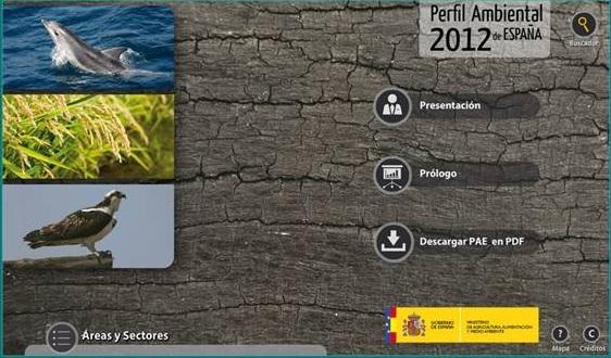 Medio Ambiente presenta el 'Perfil Ambiental 2012'