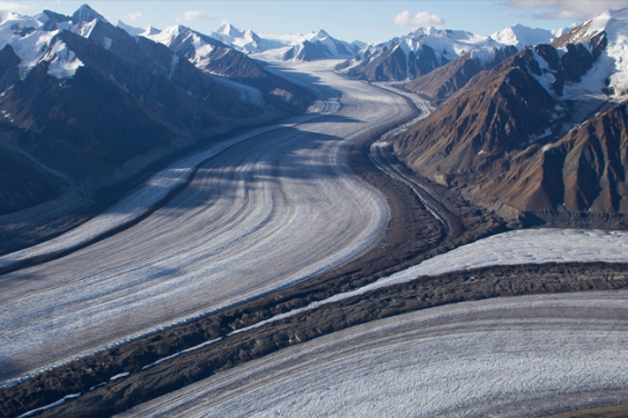 Canadá. Se derrite un glaciar y desparece un río en 4 días