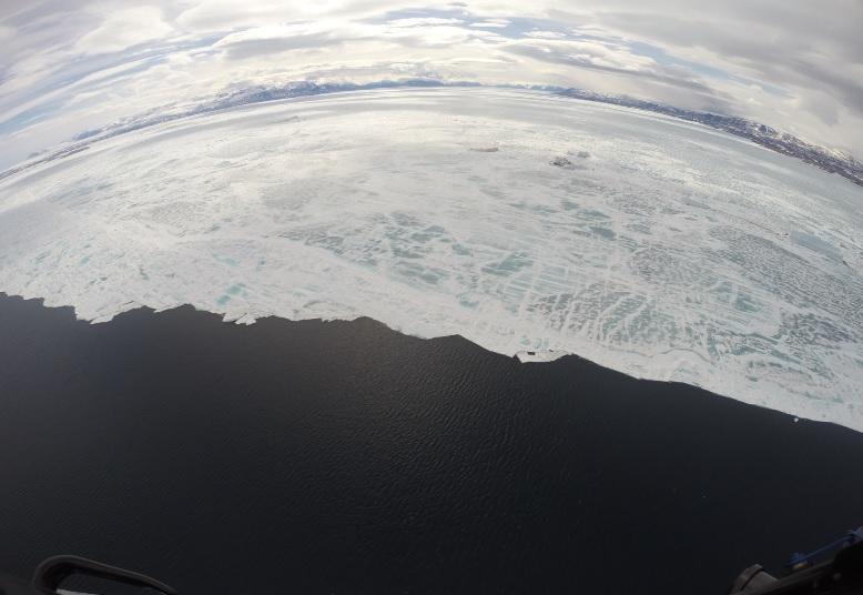 La falta de hielo en el Ártico muestra la urgencia de luchar contra el cambio climático