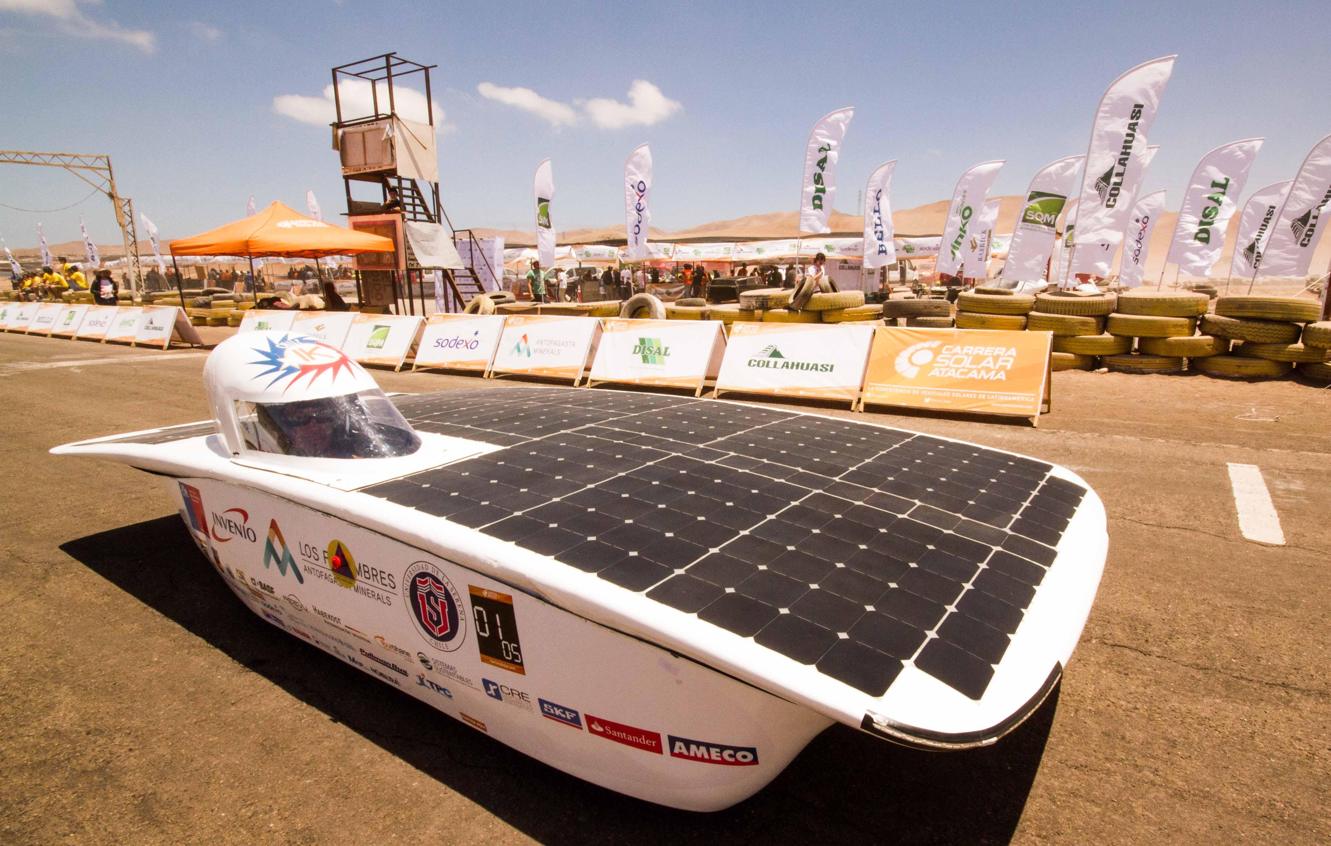 20 equipos clasifican a Carrera Solar Atacama