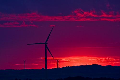 La producción eólica alcanza un nuevo récord durante la noche