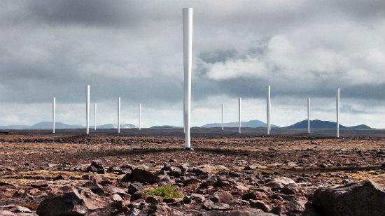 Energía eólica sin palas