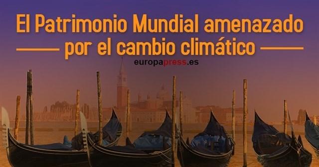 El Patrimonio Mundial amenazado por el cambio climático
