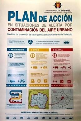 Ayuntamiento de Valladolid desactiva el nivel 2 por contaminación, al mejorar la calidad del aire