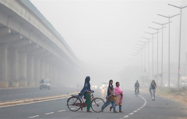 Aumenta la contaminación en Nueva Delhi a pesar de las medidas de emergencia