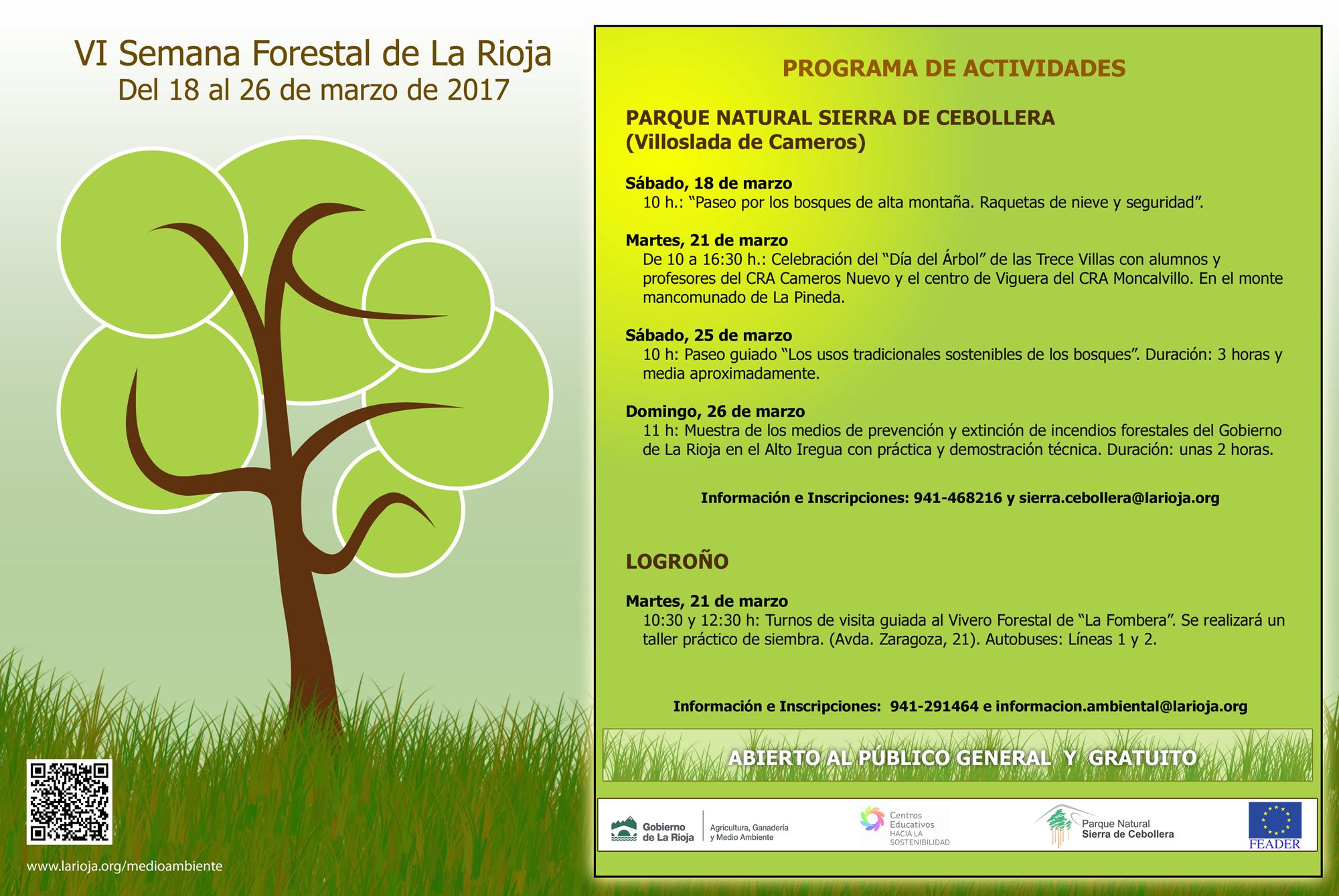 VI Semana Forestal de La Rioja