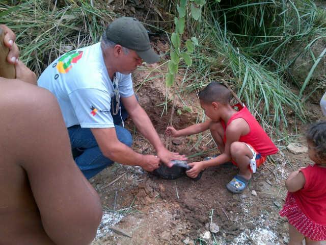 Venezuela. Ambiente Miranda reforestó en Guarenas
