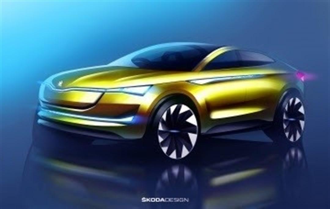 Skoda presentará su primer prototipo 100% eléctrico, el Vision E, en el Salón de Frankfurt