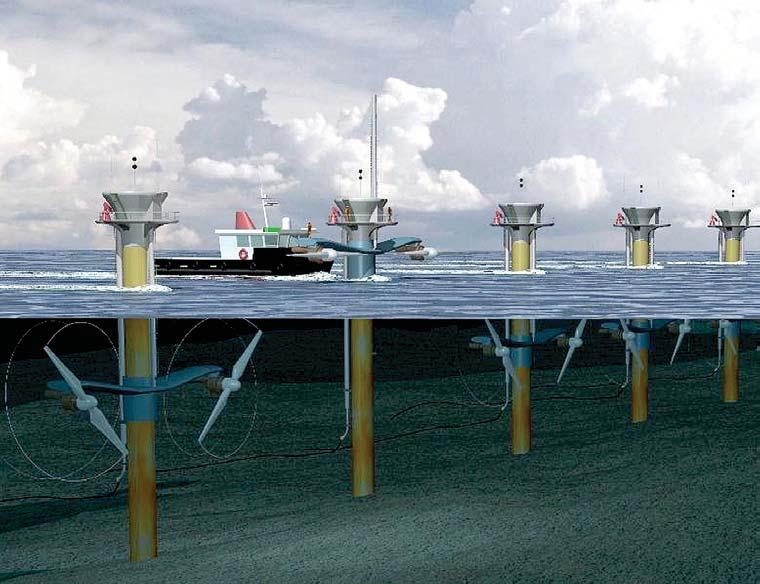 Siemens apuesta por la energía mareomotriz