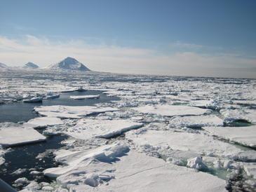 El Ártico y a la Antártida reaccionaran de forma diferente al calentamiento global
