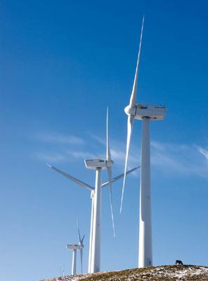 La energía eólica aumento un 21% en 2011 a nivel mundial