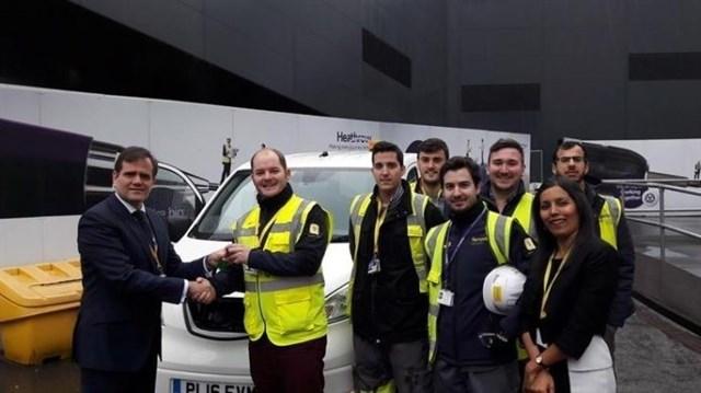 Ferrovial Agroman incorpora coches 100% eléctricos al proyecto de Heathrow, para que sea
