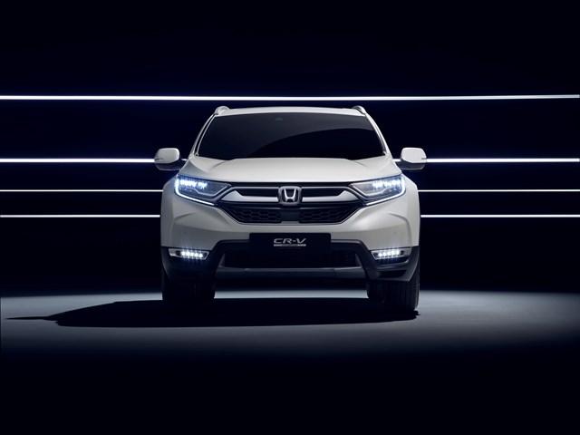 Honda presentará en Frankfurt el prototipo híbrido del CR-V