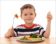 Los niños alimentados con una dieta sana podrían alcanzar un cociente intelectual mayor