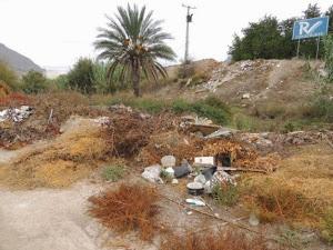 Murcia, denunciados los vertederos ilegales en zonas húmedas del Valle de Ricote