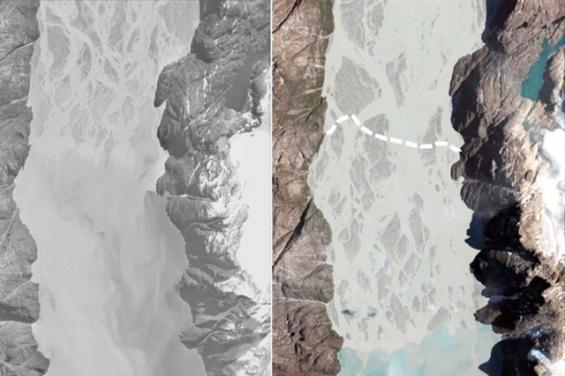 Por el calentamiento global, los deltas de Groenlandia son los únicos que crecen