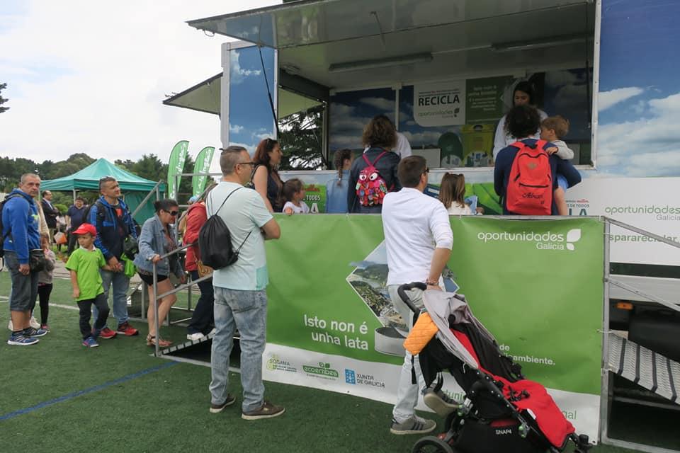 Más de 87.000 personas atendidas por la campaña gallega del reciclaje