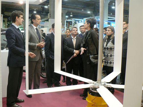 El ITE desarrolla un aerogenerador específico para entornos urbanos que evita ruidos y vibraciones