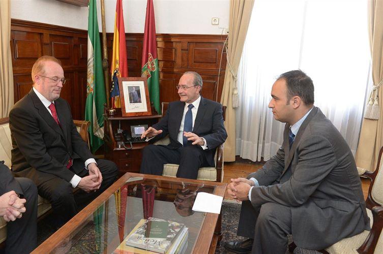 La Comisión Europea se interesa por el entorno Smart City de Málaga