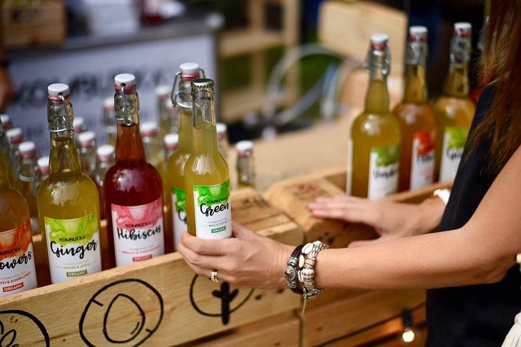 Kombutxa, la bebida probiótica, saludable y refrescante