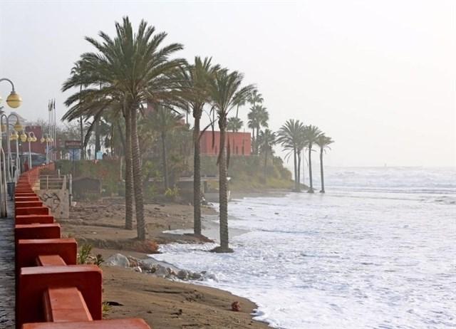 El Gobierno concluye las actuaciones en playas de Málaga para el verano tras los temporales