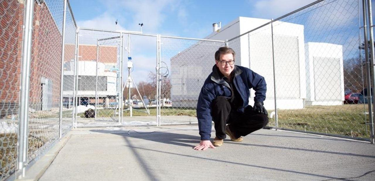 La Universidad de Nebraska concibe un hormigón capaz de derretir hielo y nieve