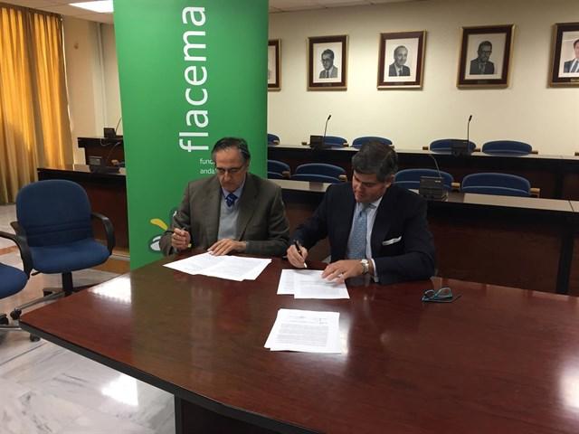 Flacema y ETSI firman un convenio para desarrollar actuaciones sobre investigación industrial y economía circular