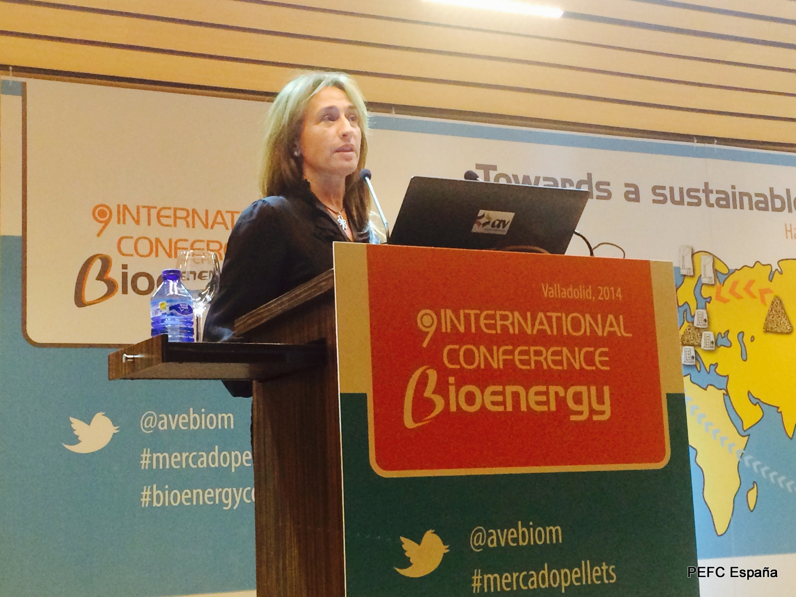 PEFC España y AVEBIOM consolidan su  alianza estratégica para impulsar la biomasa