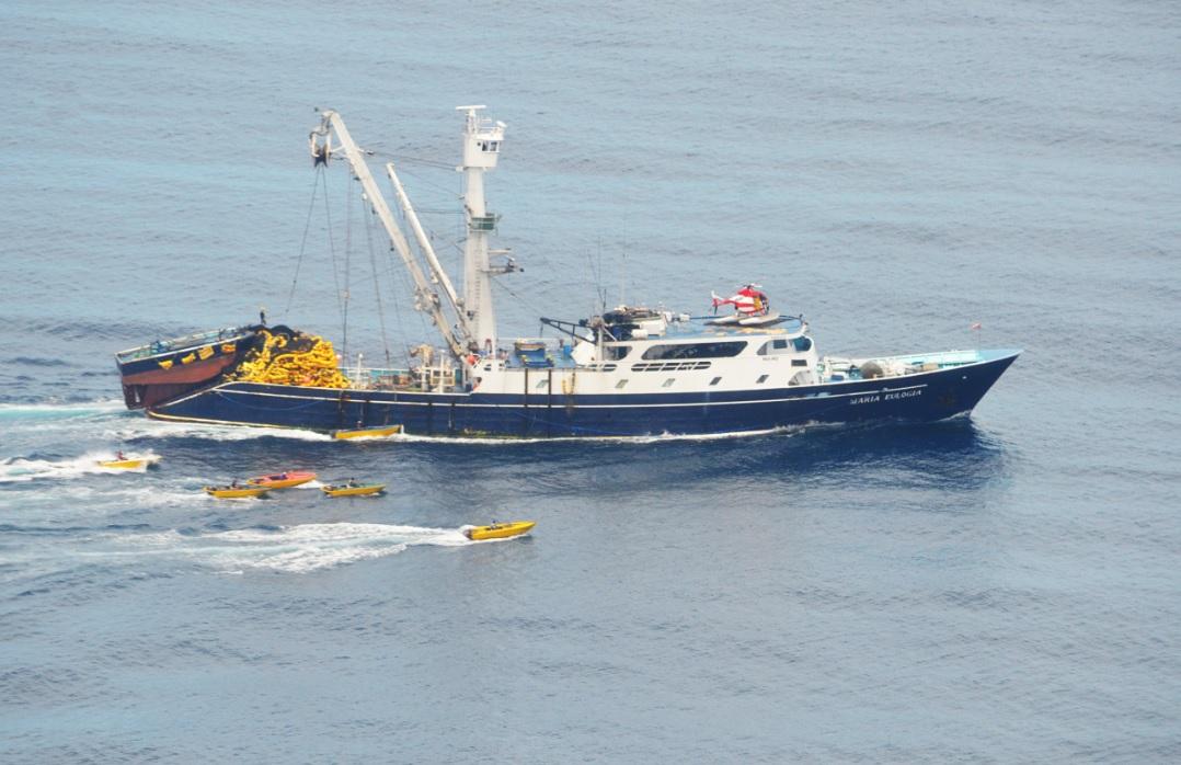 Cosa Rica. El atún que se llevan las flotas pesqueras extranjeras