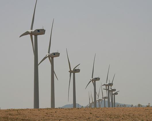 La energía eólica bate todos los records en febrero