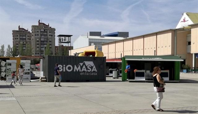 La biomasa ha evitado la emisión de 122.000 toneladas de CO2 en Valladolid
