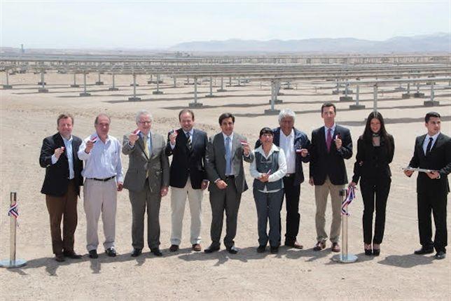 Solarpack inaugura Tarapacá (Chile), su mayor planta solar en Sudamérica