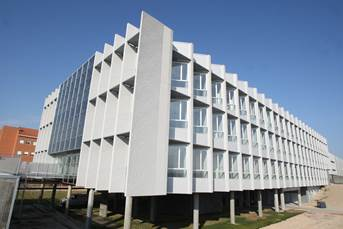El edificio Lucia de la UVA galardonado con el 'Green Building Solutions'