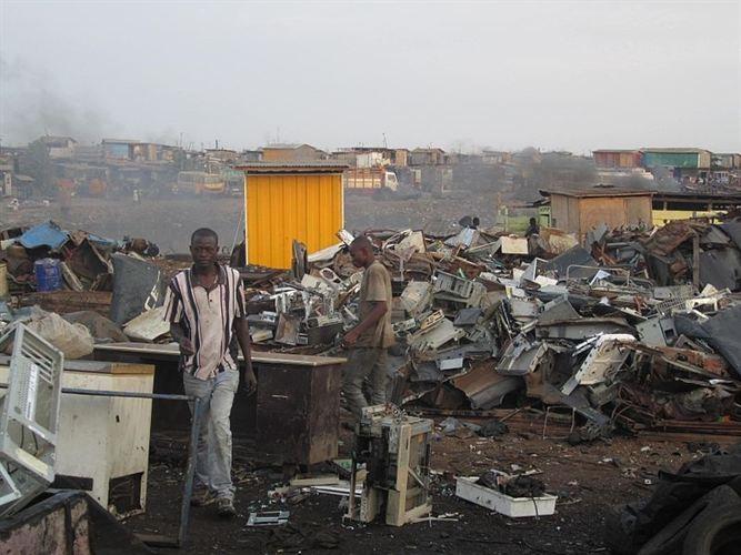 Cada 1 de los 7.000 millones de habitantes del planeta genera 7 kilos de desechos electrónicos