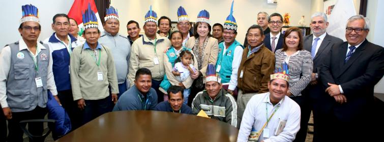 Perú. Líderes de 23 comunidades indígenas se reúnen con MINAM solicitando categorización de Yaguas como Parque Nacional