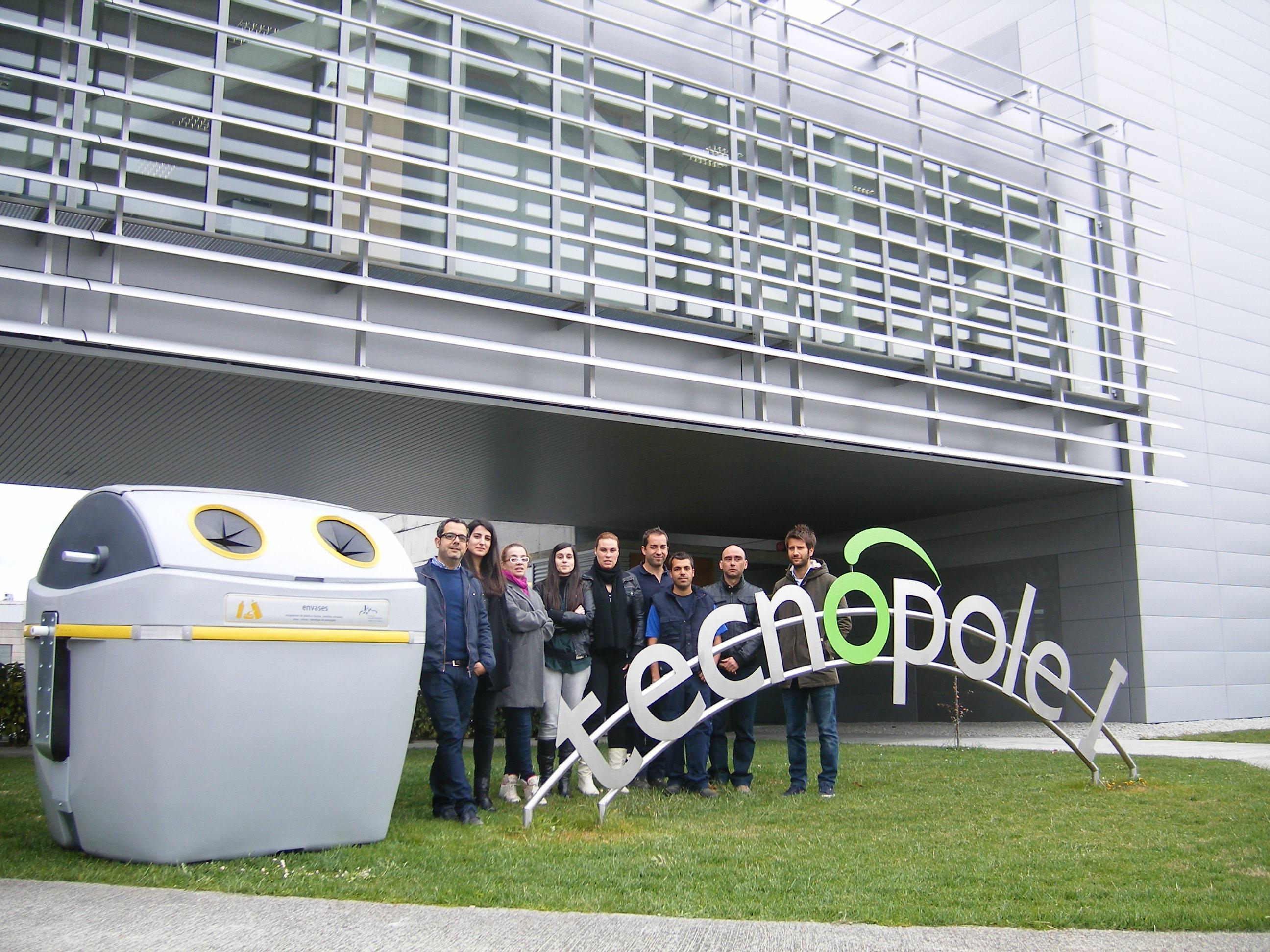 El contenedor de basura creado en Galicia gana un prestigioso premio internacional de diseño industrial