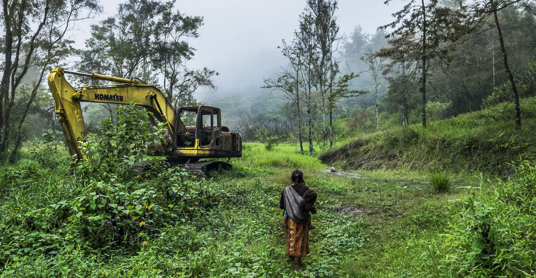 Apoya a los pueblos de Guatemala: una empresa española destruirá sus recursos