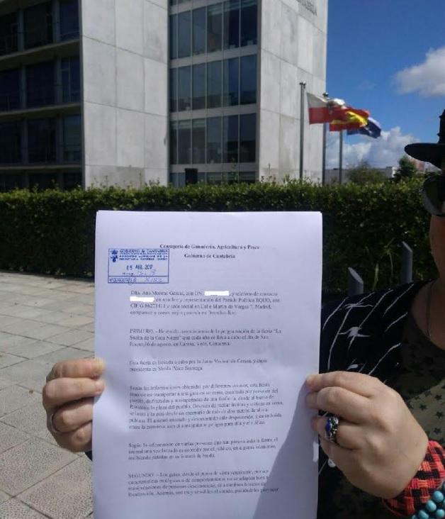 """EQUO exige al Ayuntamiento de Voto (Cantabria) que deje de utilizar animales en la fiesta """"La Gata Negra"""""""
