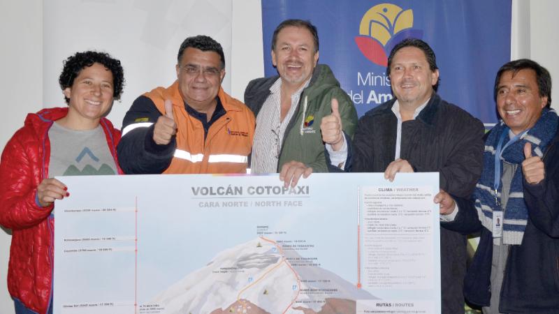 Ecuador: Tras dos años de cierre parcial se apertura el acceso total al Cotopaxi