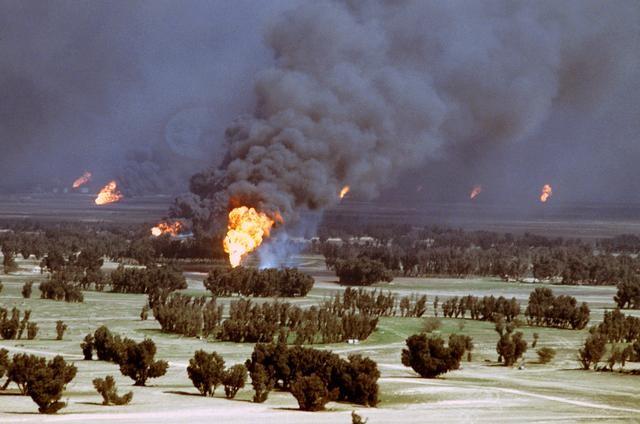 ¿Cuál es el impacto sobre el Medio Ambiente de las armas de guerra?