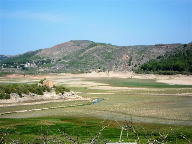 Los embalses de la Cuenca del Ebro están al 43% de su capacidad